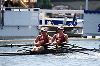 Race: 7 - Event: W2X - Berks: 537 B.C. DONOGHUE & O.K. LOE, NZL - Bucks: 536 M. OLDENBURG & R. DE JONG, NED<br /> <br /> Henley Royal Regatta 2017<br /> <br /> To purchase this photo, or to see pricing information for Prints and Downloads, click the blue 'Add to Cart' button at the top-right of the page.