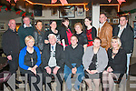 30 ROCKS: Anthony Daly, Firies (seated centre) celebrated his 30th birthday in Kirby's Brogue last Friday night along with many friends and family seated l-r: Catherine, John, Anthony, Kathleen and Noreen Daly. Back l-r: Declan Brosnan, JJ and Sandra Daly, Linda O'Brien, Margaret Sweeney, Pamela Loverage, Sinead Manigan with John and Thomas Daly.
