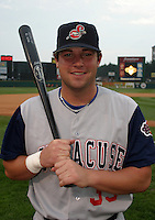 August 29, 2003:  John Schneider of the Syracuse SkyChiefs during a game at Frontier Field in Rochester, New York.  Photo by:  Mike Janes/Four Seam Images