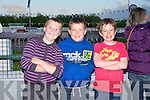 NIGHT AT THE DOGS: Enjoying the Friends of Kerry General Hospital Night at the Dogs at the Kingdom Greyhound Stadium on Saturday l-r: Aaron O'Shea and James O'Dowd, Listry and Cathal Griffin, Keel.