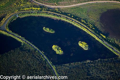 aerial photograph Ellis Creek Water Recycling Facility, Petaluma, Sonoma county, California