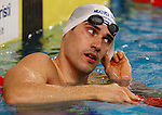 Fabio Scozzoli competes during the swimming competition Swimmeeting at Bolzano / Bozen , on November 8, 2014.