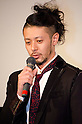 "December, 19th : Tokyo, Japan – Japanese actor Joe Odagiri appears at a press conference for the film ""MY WAY"" in the Shinjuku WALD9 CINEMA. This story is based on a true story during the World War Ⅱ. This film will be released from January 14th. (Photo by Yumeto Yamazaki/AFLO)."