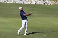 Shubhankar Sharma (IND) in action on the 6th during Round 4 of the Maybank Championship at the Saujana Golf and Country Club in Kuala Lumpur on Saturday 4th February 2018.<br /> Picture:  Thos Caffrey / www.golffile.ie<br /> <br /> All photo usage must carry mandatory copyright credit (&copy; Golffile | Thos Caffrey)