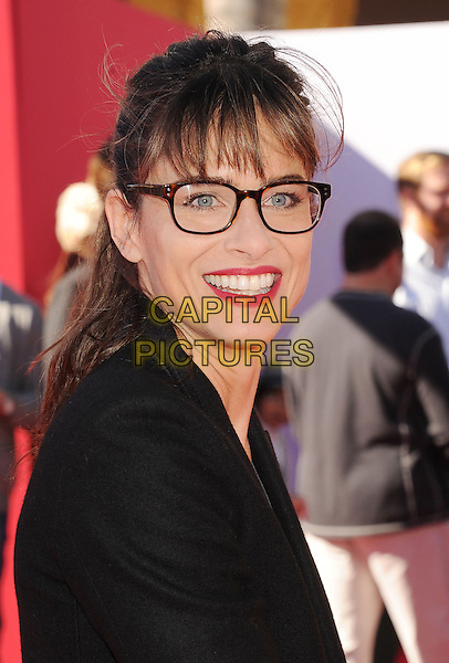 WESTWOOD, CA- FEBRUARY 01: Actress Amanda Peet arrives at the Los Angeles premiere of 'The Lego Movie' held at Regency Village Theatre on February 1, 2014 in Westwood, California.<br /> CAP/ROT/TM<br /> &copy;Tony Michaels/Roth Stock/Capital Pictures