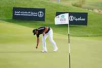 Gavin Green (MAL) on the 16th during Round 3 of the Saudi International at the Royal Greens Golf and Country Club, King Abdullah Economic City, Saudi Arabia. 01/02/2020<br /> Picture: Golffile | Thos Caffrey<br /> <br /> <br /> All photo usage must carry mandatory copyright credit (© Golffile | Thos Caffrey)