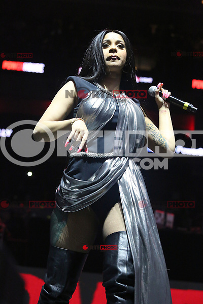 PHILADELPHIA, PA - OCTOBER 27: Cardi B performs at Powerhouse 2017 at the Wells Fargo Center in Philadelphia, Pa on October 27, 2017  Credit: Star Shooter/MediaPunch /NortePhoto.com