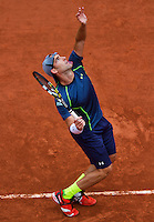 France, Paris, 26.05.2014. Tennis, Roland Garros, Robby Ginepri (USA)<br /> Photo:Tennisimages/Henk Koster