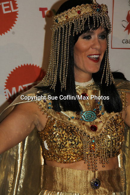 Alex McCord (Real Housewives of NYC) as Cleopatra at The 9th Annual Dream Halloween New York hosted by Children Affected by Aids Foundation (CAAF) took place at Capitale on Sunday, October 24, 2010 in New York City, NY. Local NY beneficiaries include The Family Center, Bailey House and God's Love We Deliver. (Photo by Sue Coflin/Max Photos)