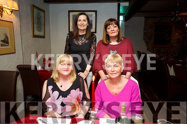 Ann May, St. Brendan's Park Tralee Celebrating a special Birthday with Friends at Cassidy's on Friday Front L-r Siobhan Murphy, Ann May. Back l-r Marie O'Flynn and Martina Colgan