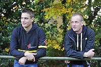 VOETBAL: DRACHTEN: Drachtster Boys - Harkemase Boys, uitslag 0-3, toeschouwer Pieter Weening, ©foto Martin de Jong