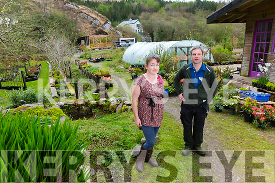 Niamh & Tobias Mutschler from Caherdaniel Garden Centre.