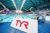 Picture By Allan Mckenzie/SWpix.com - 28/10/2017 - Swimming - Swim England Masters National Champs - Ponds Forge International Sports Centre, Sheffield, England - TYR, branding.
