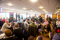 Sunday April 02 2017 <br /> Pictured:   Lounges pre-match<br /> Re: Premier League match between Swansea City and Middlesbrough at The Liberty Stadium, Swansea, Wales, UK. SUnday 02 April 2017
