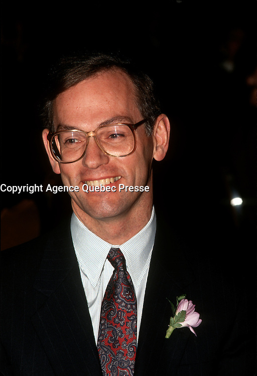 Jacques Bougie, ALCAN CEO, File photo before 1999
