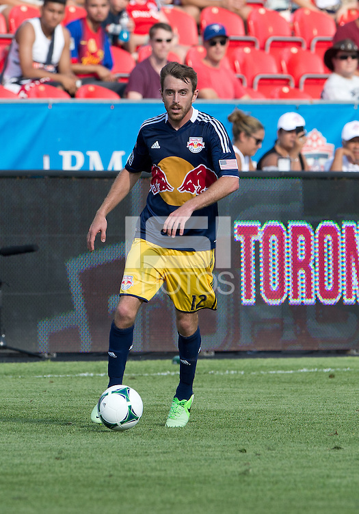 July 20, 2013: New York Red Bulls midfielder Eric Alexander #12 in action during a game between Toronto FC and the New York Red Bulls at BMO Field in Toronto, Ontario Canada.<br /> The game ended in a 0-0 draw.