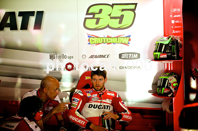 Gran Premi Monster de Catalunya in Montmeló Circuit<br /> 14/06/2014 <br /> motoGP free&Qualifyng practices<br /> cal cruchtlow<br />RM/PHOTOCALL3000