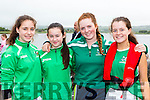 Alana Lynch, Zara Foley, Ava Griffin and Alanna O'Sullivan Cromane at the Callinafercy Regatta on Sunday