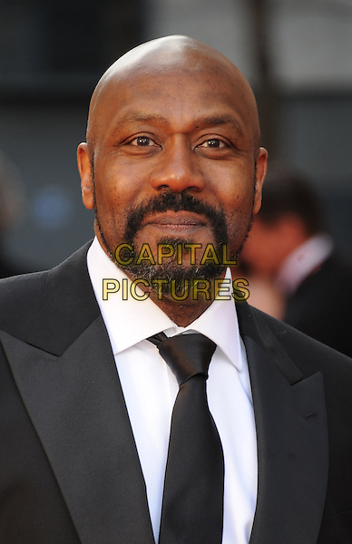 Lenny Henry.The Olivier Awards 2012, Royal Opera House, Covent Garden, London, England..April 15th, 2012.headshot portrait black white beard facial hair .CAP/WIZ.© Wizard/Capital Pictures.