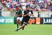 Waimana Riedlinger Kapa of New Zealand during the World Championship U20 3rd place match between South Africa and New Zealand on June 17, 2018 in Beziers, France. (Photo by Alexandre Dimou/Icon Sport)