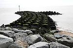 Fish tail reef, Cobbolds Point coastal protection scheme, Felixstowe, Suffolk, England
