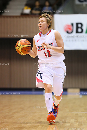 Asami Yoshida (JPN), <br /> JUNE 30, 2013 - Basketball : <br /> International Basketball Japan Games 2013 <br /> between Japan Women's 78-61 Mozambique Women's <br /> at 2nd Yoyogi Gymnasium, Tokyo, Japan. <br /> (Photo by YUTAKA/AFLO SPORT)
