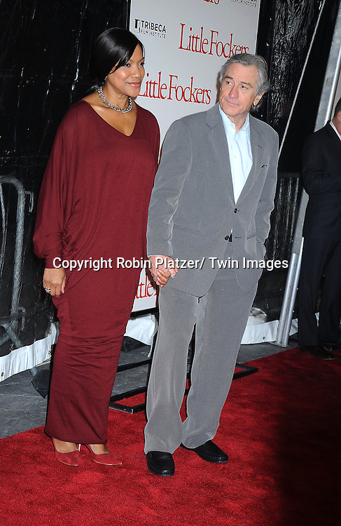 "Grace Hightower and Robert DeNiro at the World Premiere of ""Little Fockers"",.benefiting the not-for-profit tribeca Film Institute on December 15, 2010 at The .Ziegfeld Theatre in New York City."