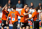 Man of the match Jon Daly takes the acclaim for scoring his second goal