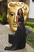 Michaela Coel<br /> arrives for the BAFTA TV Craft Awards 2016 at the Brewery, Barbican, London<br /> <br /> <br /> ©Ash Knotek  D3109 24/04/2016