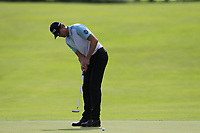 Victor Perez (FRA) putts on the 15th green during Sunday's Final Round of the Northern Ireland Open 2018 presented by Modest Golf held at Galgorm Castle Golf Club, Ballymena, Northern Ireland. 19th August 2018.<br /> Picture: Eoin Clarke | Golffile<br /> <br /> <br /> All photos usage must carry mandatory copyright credit (&copy; Golffile | Eoin Clarke)