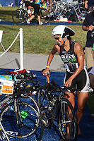 Mercedes Masohn at the 5th Annual Nautica South Beach Triathlon to benefit the St. Jude Children.s Research Hospital. Miami Beach, Florida. April 1, 2012. © Majo Grossi/MediaPunch Inc.