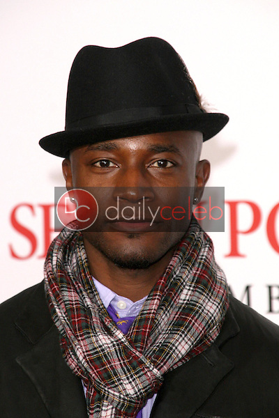 Taye Diggs <br /> at the Los Angeles Premiere of 'Seven Pounds'. Mann Village Theatre, Westwood, CA. 12-16-08<br /> Dave Edwards/DailyCeleb.com 818-249-4998
