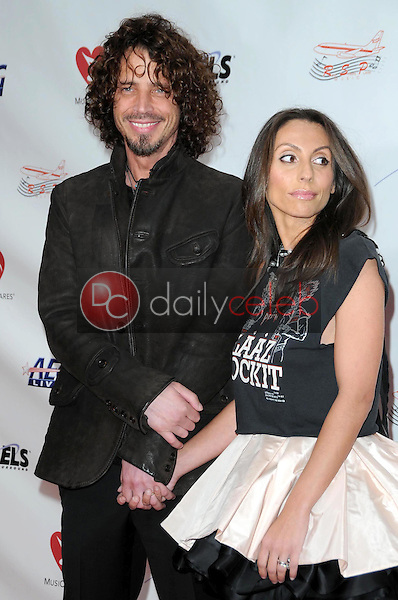 Chris Cornell and wife Vicky<br />at the 2009 Musicares Person of the Year Gala. Los Angeles Convention Center, Los Angeles, CA. 02-06-09<br />Dave Edwards/DailyCeleb.com 818-249-4998