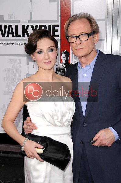 Carice van Houten and Bill Nighy <br /> at the Los Angeles Premiere of 'Valkyrie'. The Directors Guild of America, Los Angeles, CA. 12-18-08<br /> Dave Edwards/DailyCeleb.com 818-249-4998