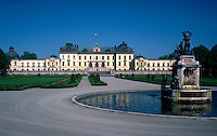 Drottningholm Palace. Sweden Island of Lovon.
