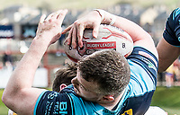 Picture by Allan McKenzie/SWpix.com - 25/03/2018 - Rugby League - Betfred Championship - Batley Bulldogs v Featherstone Rovers - Heritage Road, Batley, England - Rugby League, Ball, abstract.