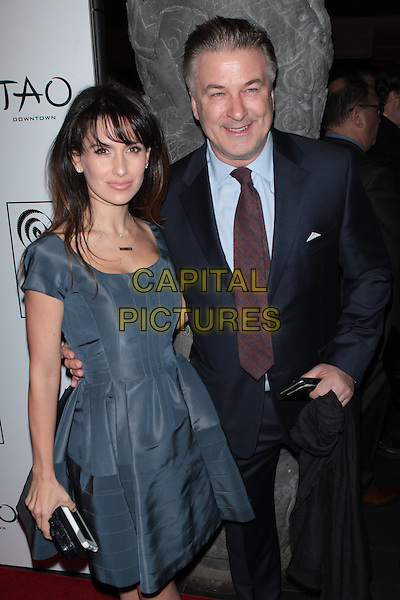 NEW YORK, NY - JANUARY 4: Hilaria Baldwin and Alec Baldwin at the New York Film Critics Circle Awards at TAO Downtown in New York City on January 4, 2016. <br /> CAP/MPI99<br /> &copy;MPI99/Capital Pictures