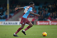 Isaiah Osbourne of Scunthorpe Utd<br />  - Scunthorpe United vs Bristol City - Sky Bet League One Football at Glanford Park, Scunthorpe, Lincolnshire - 17/01/15 - MANDATORY CREDIT: Mark Hodsman/TGSPHOTO - Self billing applies where appropriate - contact@tgsphoto.co.uk - NO UNPAID USE
