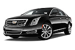 Stock pictures of low aggressive front three quarter view of 2016 Cadillac XTS - 4 Door Sedan Low Aggressive
