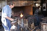 Blacksmith smithy, Zuiderzee museum, Enkhuizen, Netherlands