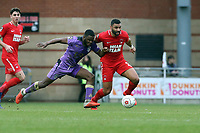 "O""s Jamie Turley & Adrian CLifton during Leyton Orient vs Maidenhead United, Vanarama National League Football at The Breyer Group Stadium on 16th February 2019"