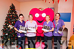 The nursing staff in the Cashel ward at Kerry University Hospital help launch the I Love Tralee calendar.<br /> L to R: Catherine Doolan, Mairead O'Connor, Jeanette Foley and Karen Lovett.