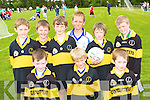 Having a great time at the Castleisland Desmonds GAA funday on Sunday was front row l-r: Dylan Browne, Benjamin Setterfield, Brian Daly. Back row: Adam O'Donovan, Brian Moloney, Greig Curran, Michael Prenderville, Ben Cooney and Kevin Mahony   Copyright Kerry's Eye 2008