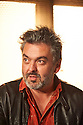 Writer Jez Butterworth on the set of The River  which opens at The Jerwood Theatre Upstairs at The Royal Court Theatre on 26/10/12. CREDIT Geraint Lewis