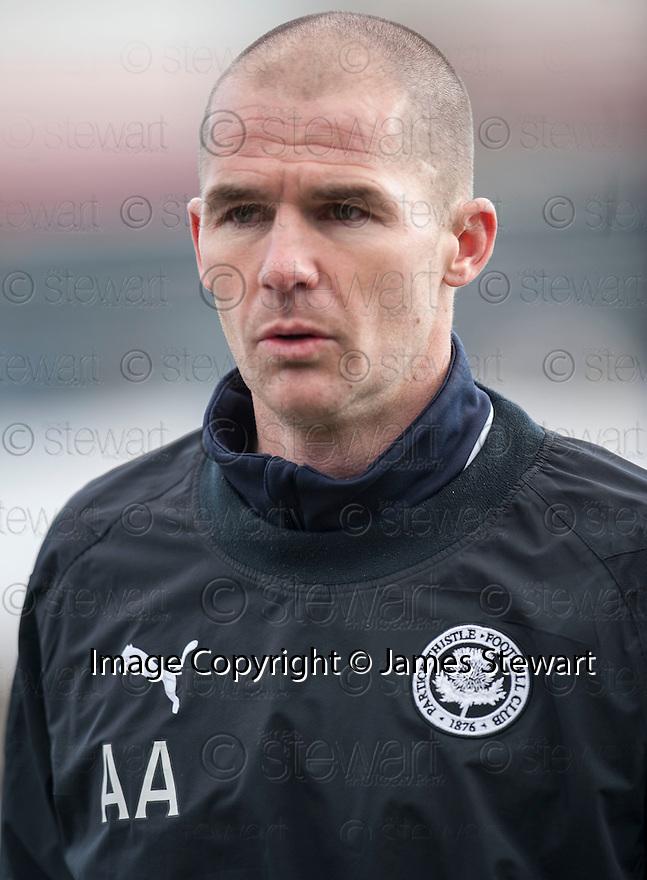 Partick manager Alan Archibald.