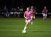 Kansas City, MO - Friday May 13, 2016: FC Kansas City forward Shea Groom (2) against Chicago Red Stars during a regular season National Women's Soccer League (NWSL) match at Swope Soccer Village. The match ended 0-0.
