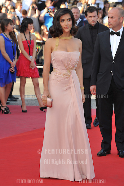 Salma Hayek at the closing Awards Gala at the 63rd Festival de Cannes..May 23, 2010  Cannes, France.Picture: Paul Smith / Featureflash