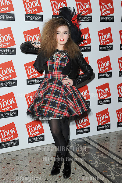 Tallia Storm at The Look Show at the Royal Courts of Justice, London. 06/10/2012 Picture by: Steve Vas / Featureflash