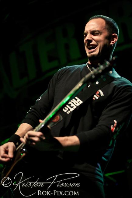 Alter Bridge performing at The Palladium in Worcester on 5-17-11