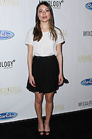 """LOS ANGELES, CA, USA - APRIL 17: Miranda Cosgrove at the Drake Bell """"Ready Steady Go!"""" Album Release Party held at Mixology101 & Planet Dailies on April 17, 2014 in Los Angeles, California, United States. (Photo by Xavier Collin/Celebrity Monitor)"""